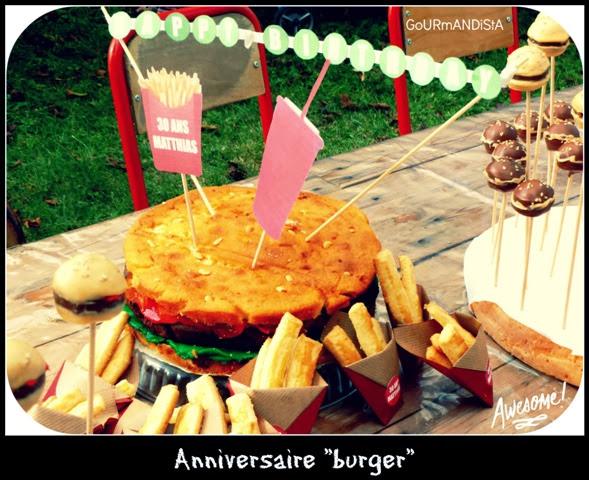 image Anniversaire burger !!