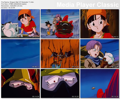 Download Film / Anime Dragon Ball GT Episode 11 Bahasa Indonesia