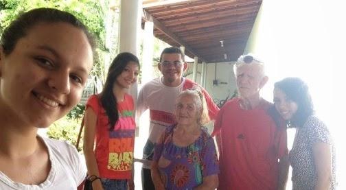 JM visita abrigo de idosos em Patos (PB)