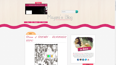 mayaras blog template personalizado sweet templates