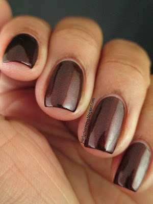 China Glaze X, burgunday, wine, swatch, nails, nail polish, mani