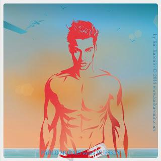 Pablo Morais in The Swim Suite, swimwear editorial by Kai Karenin