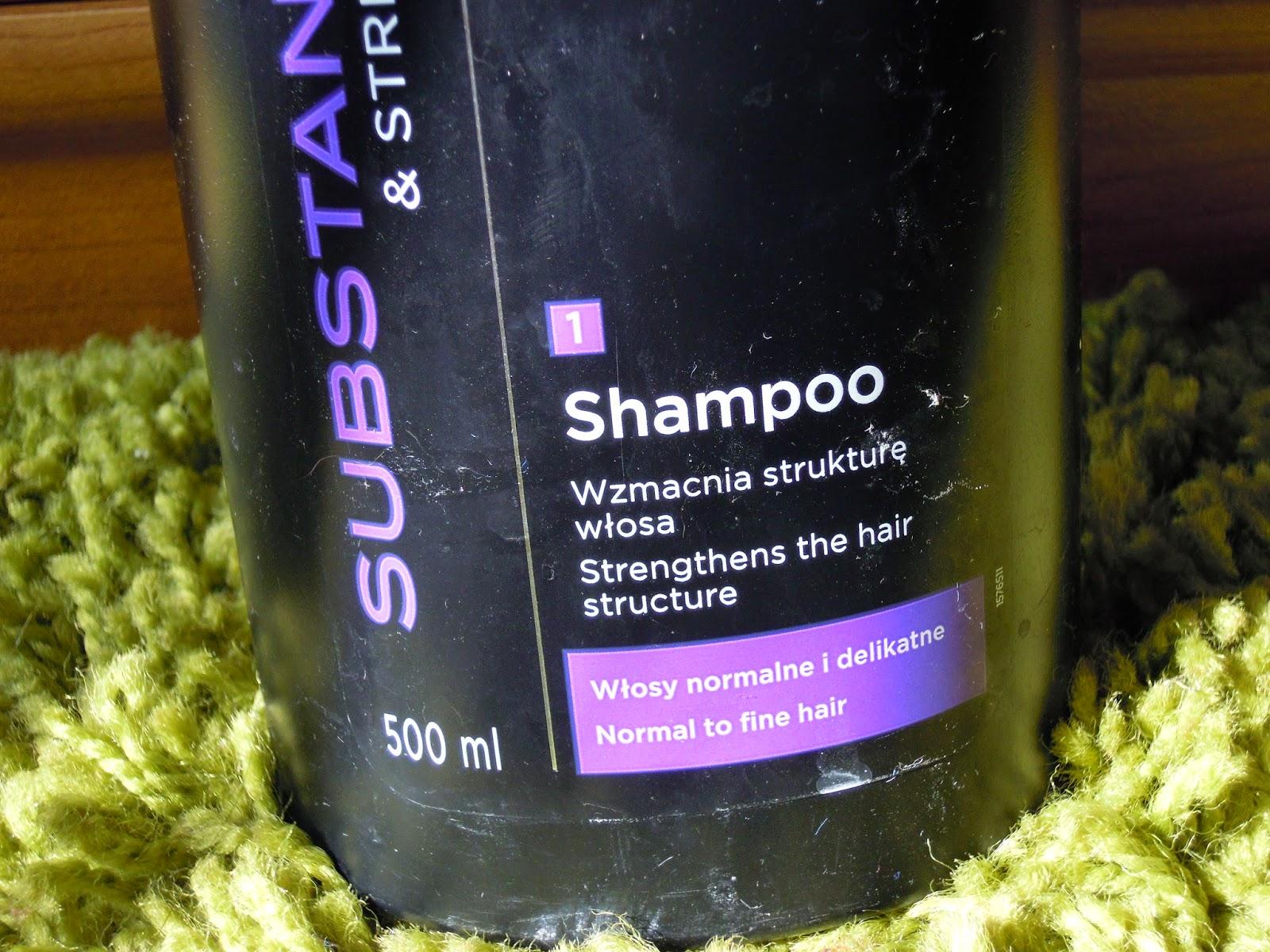 Syoss, Substance & Strength, Szampon do włosów normalnych i delikatnych - co z nim ? Recenzja
