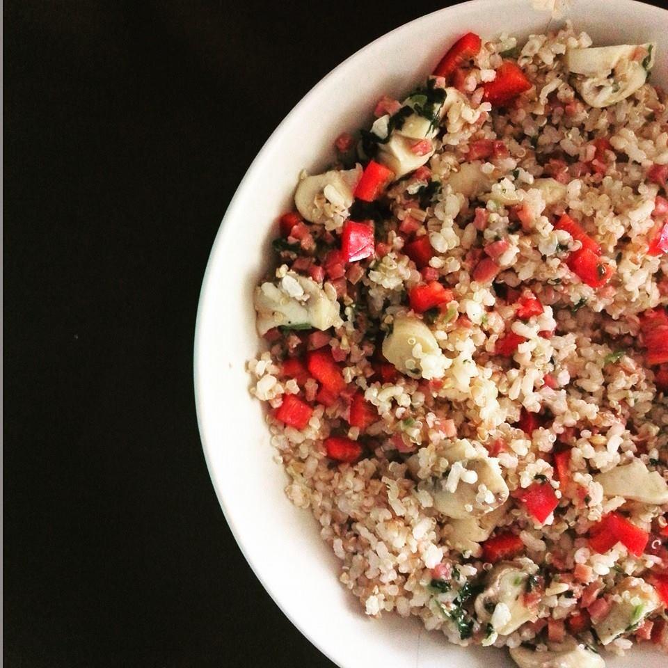 La magia de sonia quinoa con verduras - Cocinar quinoa con verduras ...