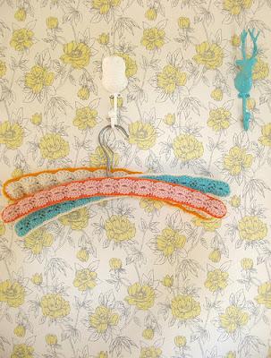 идеи для вязания, вешалки