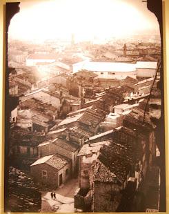 Fidenza 1944 dal campanile di S. Michele