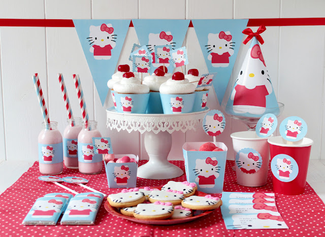 Kit de fiesta de Hello Kitty