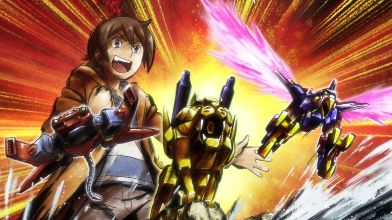Gundam guy gundam build fighters try episode 16 for Domon gundam build fighters try