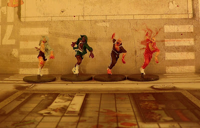 Zombicide painted runners zombie how to