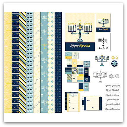 Stampin' Up! Hanukkah Happiness Ensemble - Digital Download