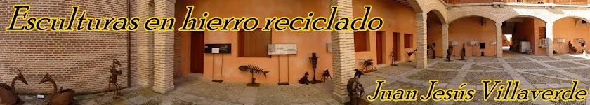 Juan Jesús Villaverde. Esculturas en hierro reciclado
