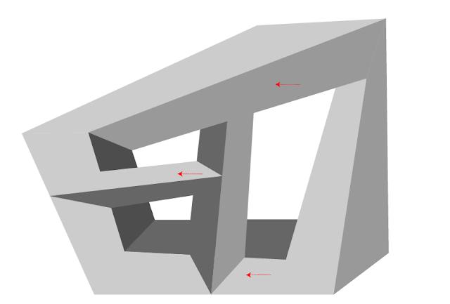 Ciencia aplicada al dise o mayo 2013 - Figuras geometricas imposibles ...