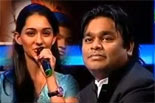 Genius A.R.Rahman impressed by Girl's singing