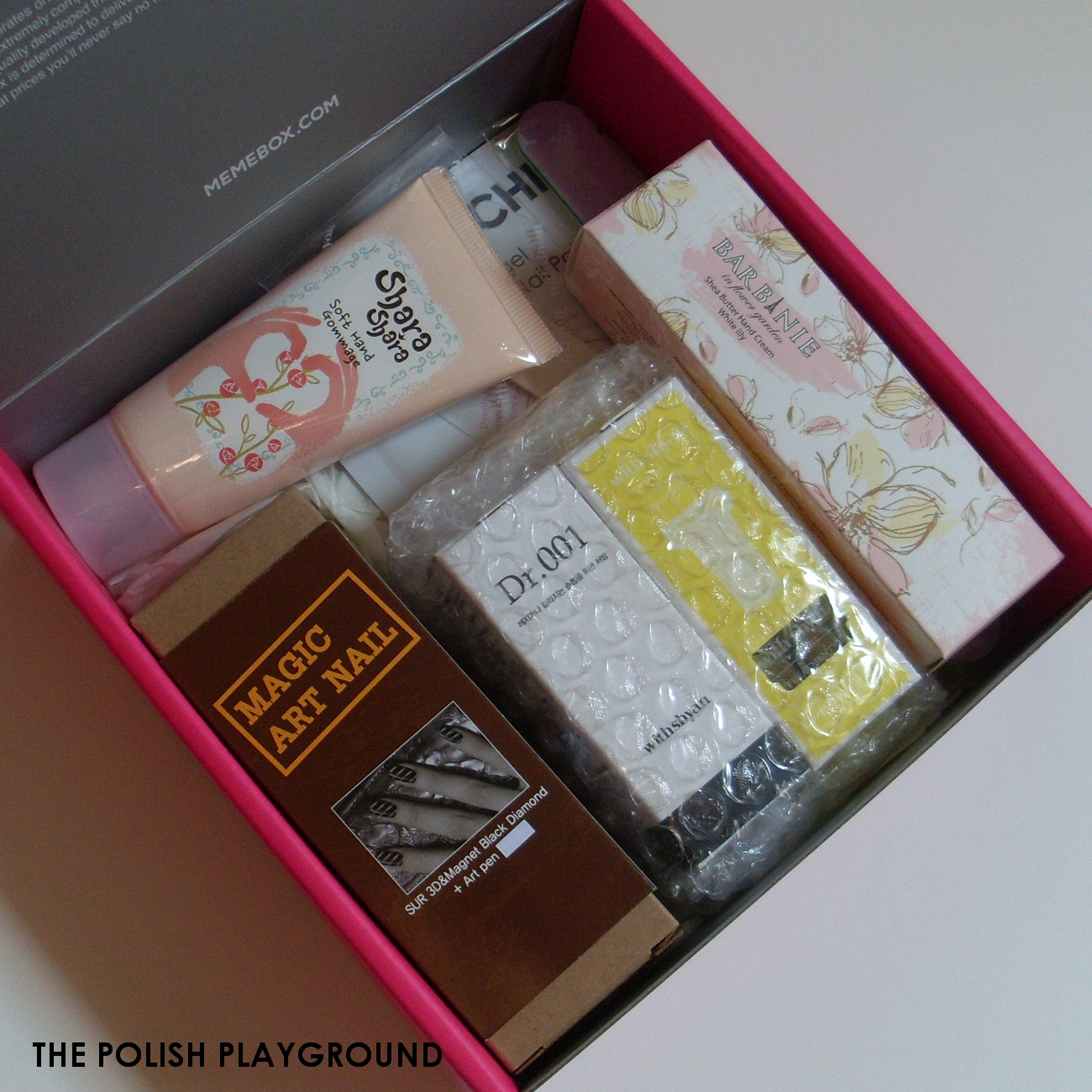 Memebox Special #26 Hand & Nail Care Unboxing
