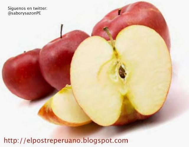 POSTRE DE MANZANA Y SÉMOLA - Receta - Recipes - Dessert - elpostreperuano.blogspot.com