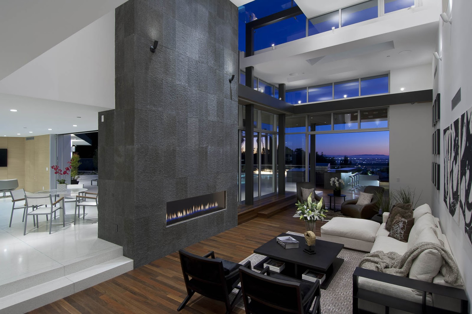 Modern Cabinet Impressive Modern Home In Hollywood Hills