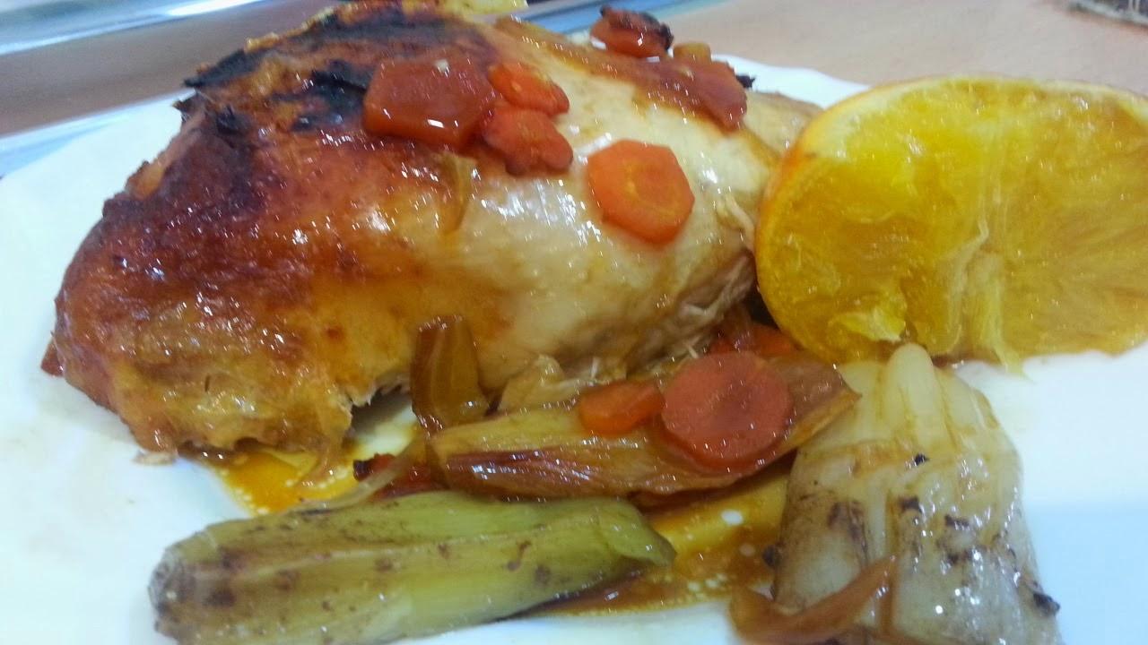 Diferentes y variadas formas de hacer un pollo asado cocina for Cocinar un pollo entero