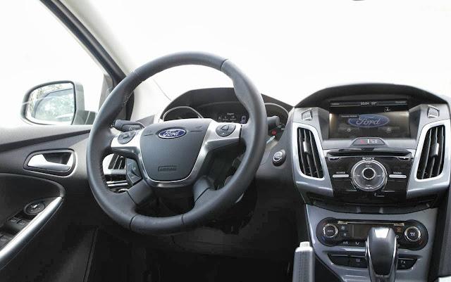 Focus Titanium - interior