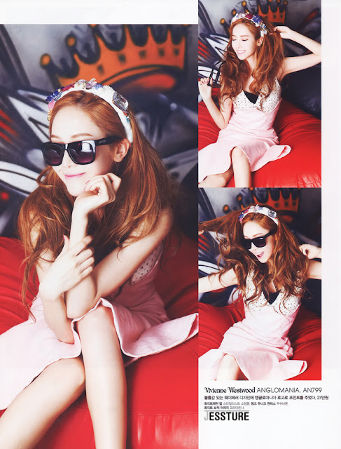 """Jessica Goes """"Funny & Funky"""" for Cosmopolitan"""