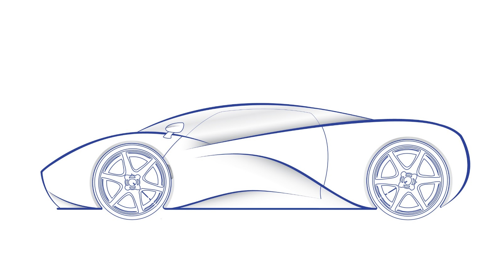 This Is My Attempt To Design A Supercar I