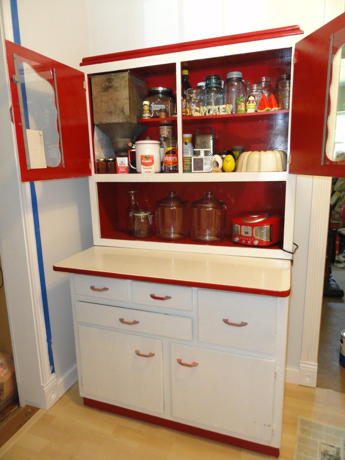 Wife of a Fire Man: Sweetheart Cabinet