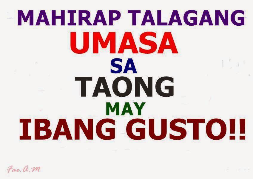 Mahirap talagang umasa sa taong may ibang gusto!