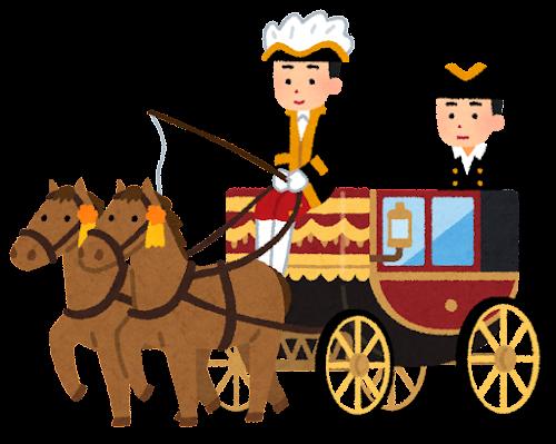 馬車のイラスト