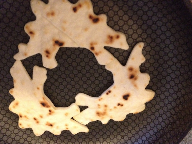 use different shapes for fun tortillas