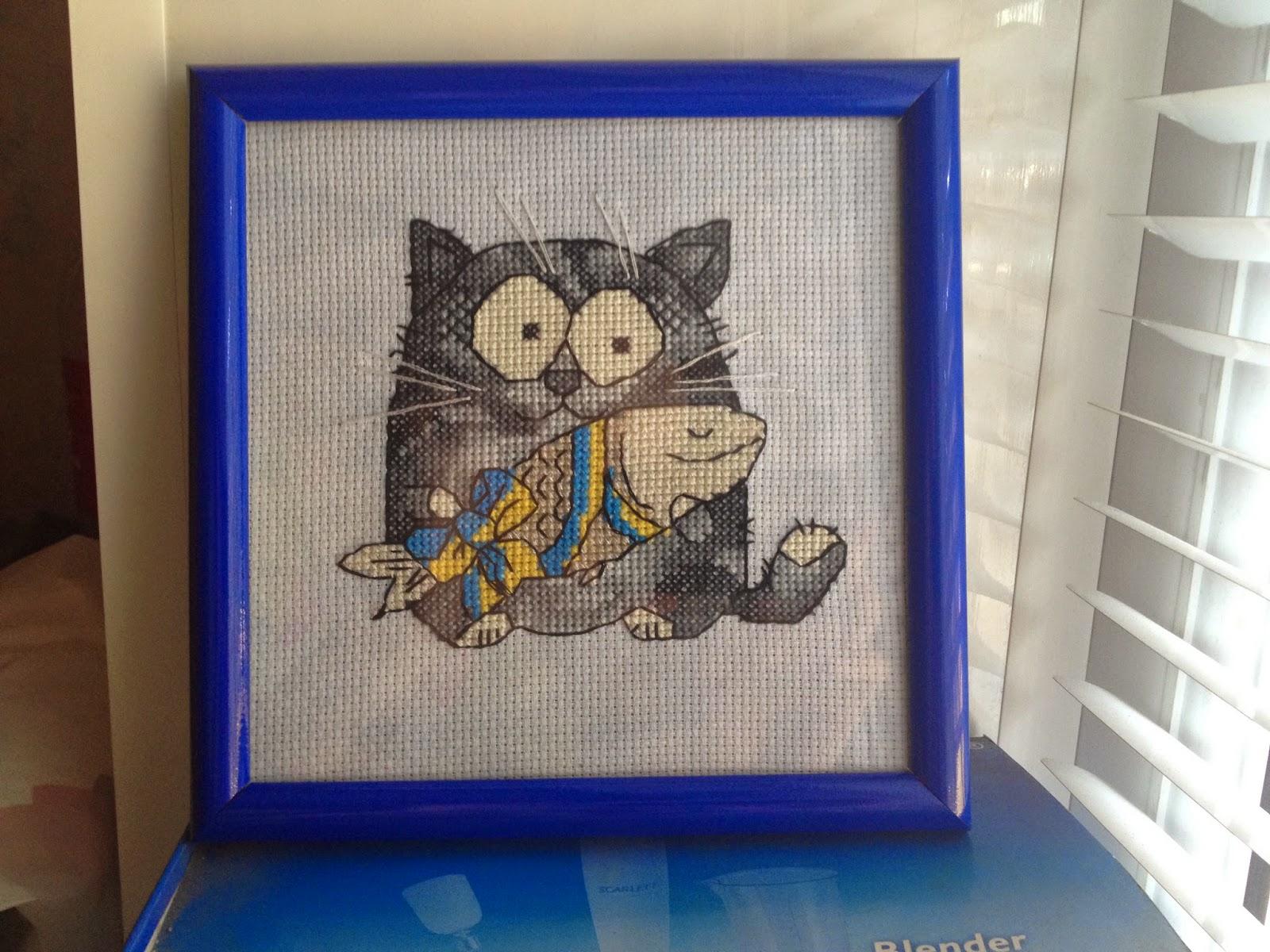 Кіт Мурчик і риба-лящик