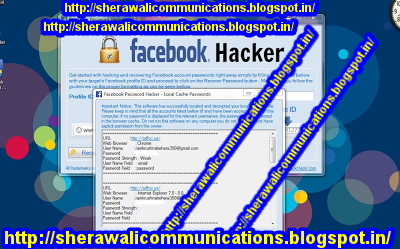 SCREEN SHOT PROOF OF FACEBOOK PASSWORD HACKER 2.9.8