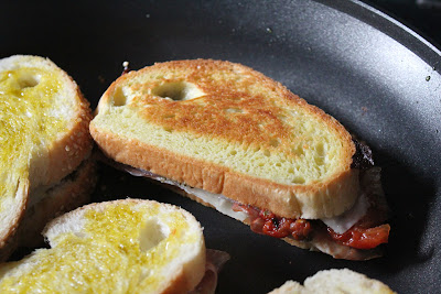 Italian-style grilled cheese sandwiches