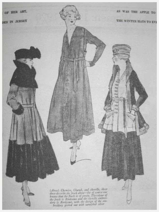 Visitor Page WW1 Fashion History 1914-1919