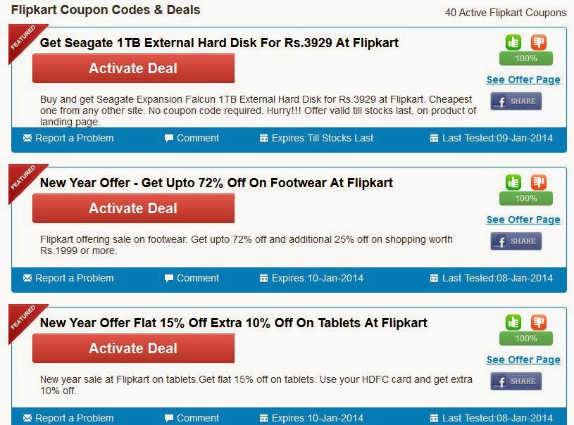 The Flipkart online store offers an excellent range of electronic merchandise, apparel for men, women and children, books, music, media accessories, appliances and sporting goods at extremely low prices. Flipkart offers an unparalleled shopping experience to all its customers and each of their user-friendly menus is filled with top brands.
