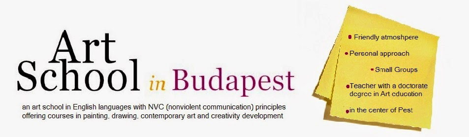 Art school in Budapest  art school in English Language  with NVC Nonviolent Communication courses