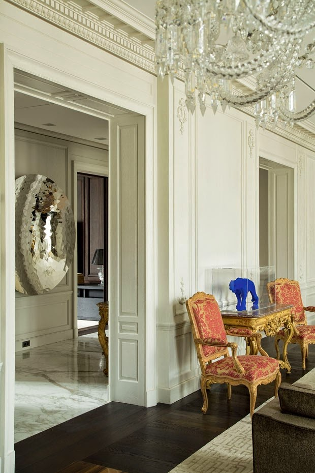 Interiors Decor Luxury Apartment Paris