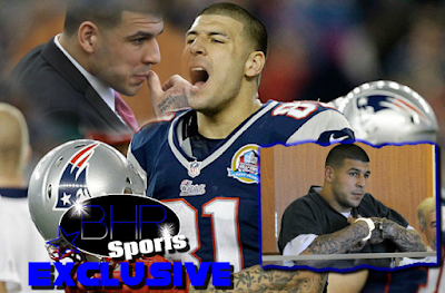 Former New England Patriots Star Aaron Hernandez Was Found With A Shank In His Prison Cell