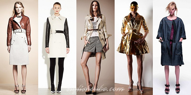 Spring Summer 2013 Women's Raincoats Trends | Fashion and Accessories