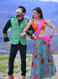 Rakul preethi singh hot photos in pandaga chesko movie