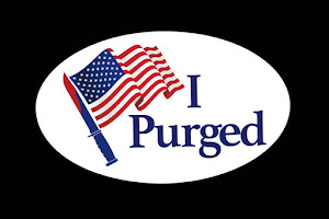 REMBEMBER TO PURGE . . . I MEAN VOTE