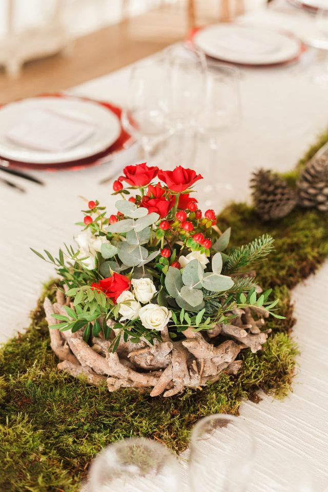 Cena de Navidad Mi Boda Rocks - Blog Mi Boda - Decoracion floral