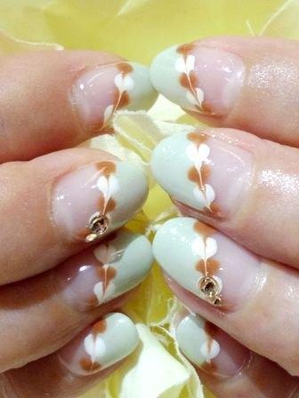nail art nail Arte de Decorar Unhas Outono 2013