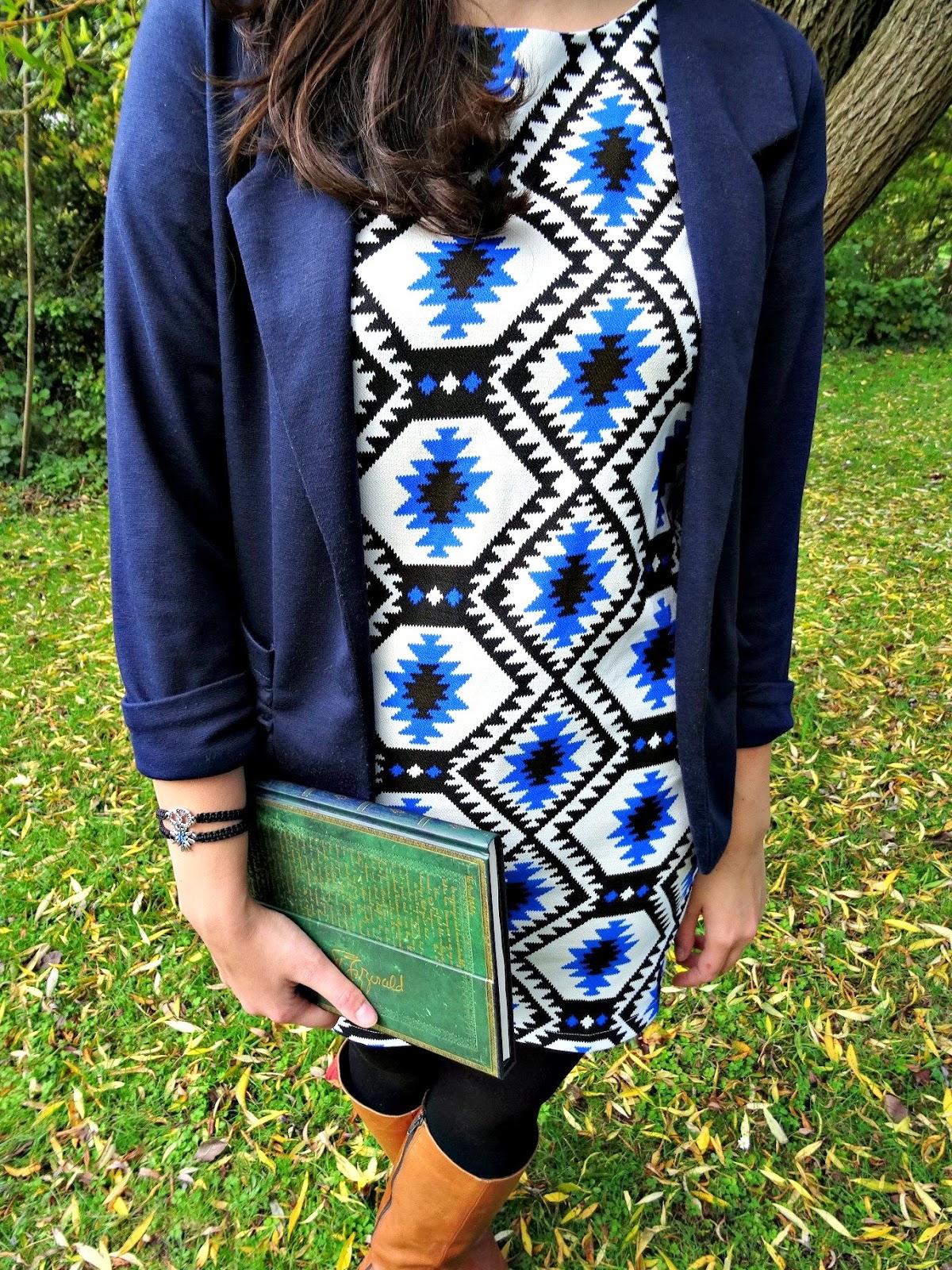 Celeb Look Fashion Post blazer and dress combination