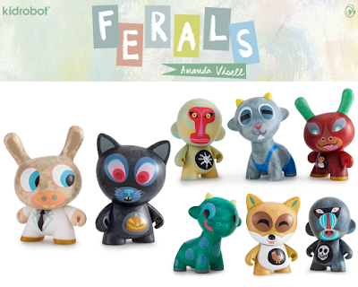 Ferals Mini Figure Series by Amanda Visell & Kidrobot