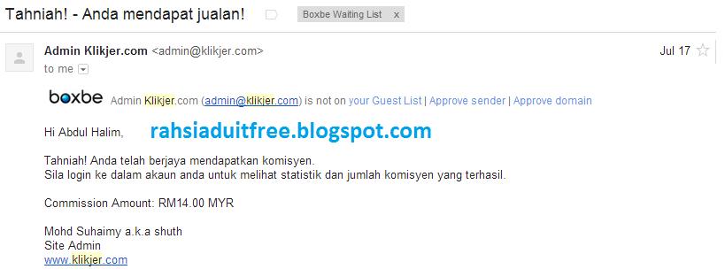 komisen pertama klikjer.com