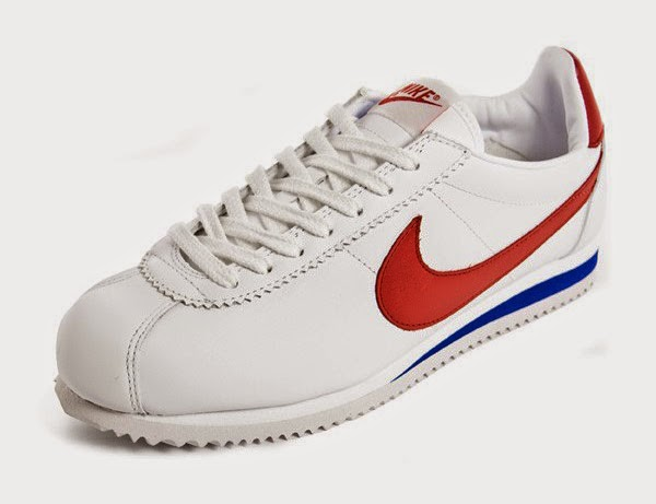 Nike Cortez Forrest Gump White Red Blue