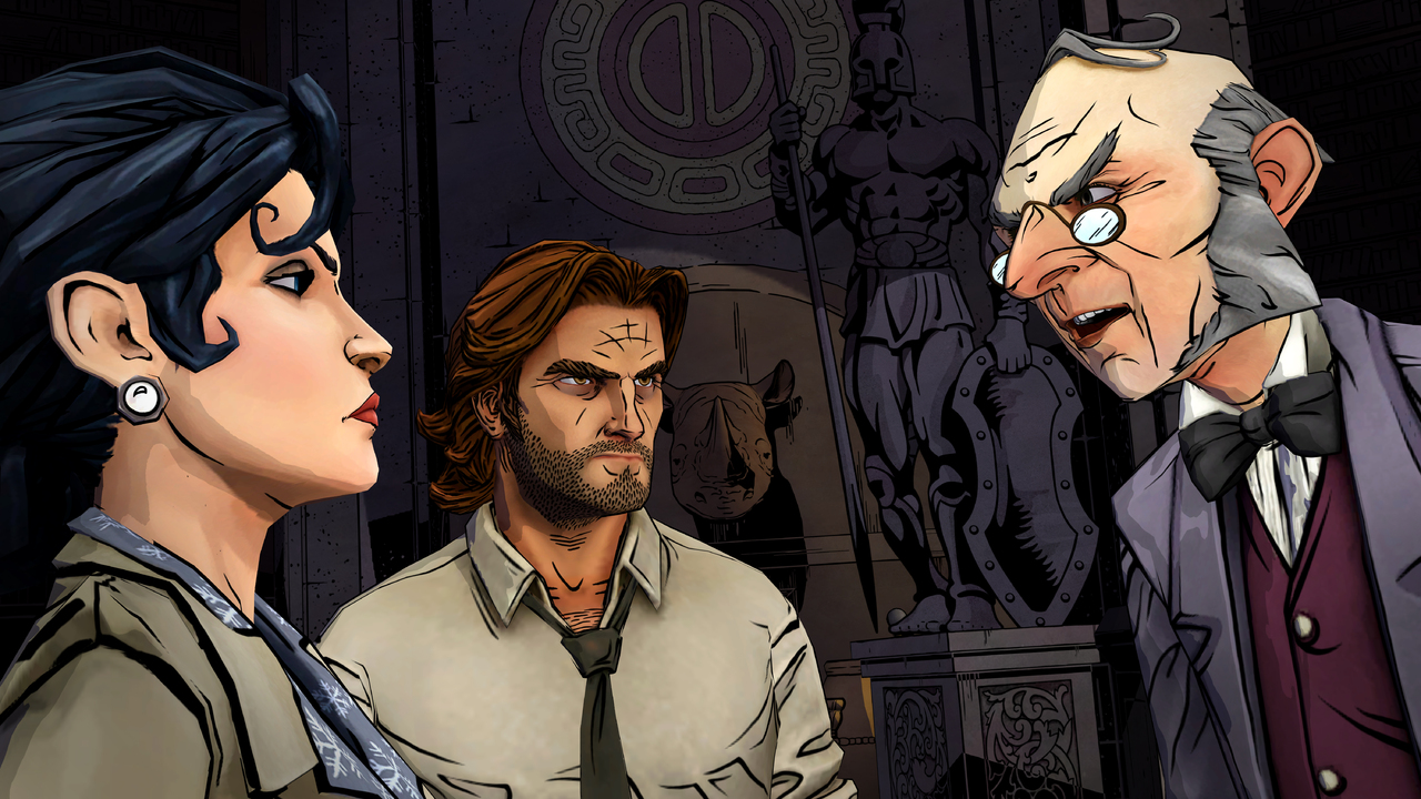 The Wolf Among Us Episode 2 smoke and mirrors
