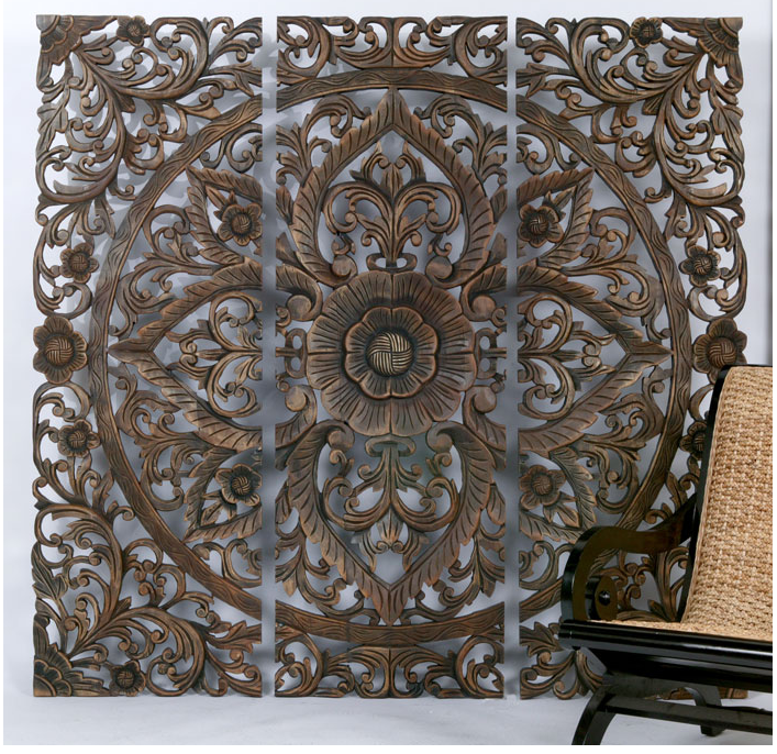 Z Gallerie Carved Sanctuary Panel Copycatchic
