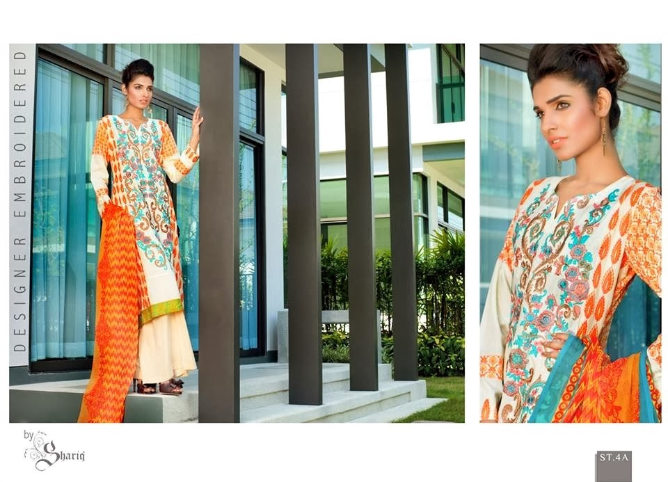 Long Shirt Fashion Lawn Designs