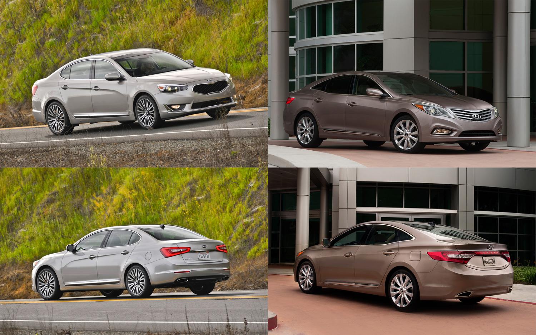 Kia Cadenza vs Hyundai Azera