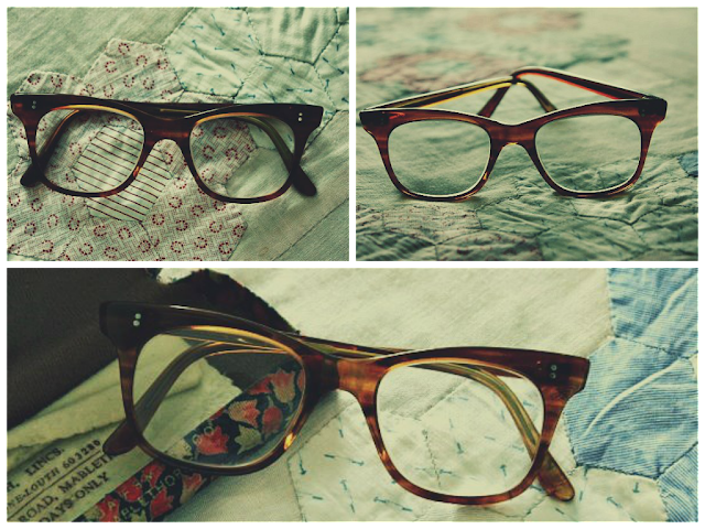 vintage cat-eye glasses spectacles